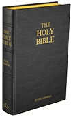 Knox Bible - Hardcover (Black Leather)
