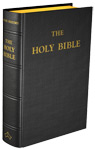 Douay-Rheims Bible (Standard size) - Hardcover (Black Leather)