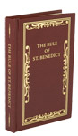 Rule of St. Benedict, The - Leather Hardback