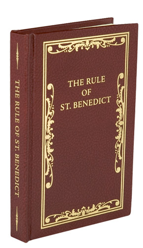The Rule of St. Benedict - Leather Hardback