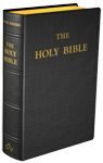 Douay-Rheims Bible (Standard size) - Flexible cover (Black Leather)