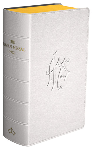 Daily Missal 1962 - Flexible cover (White Leather)