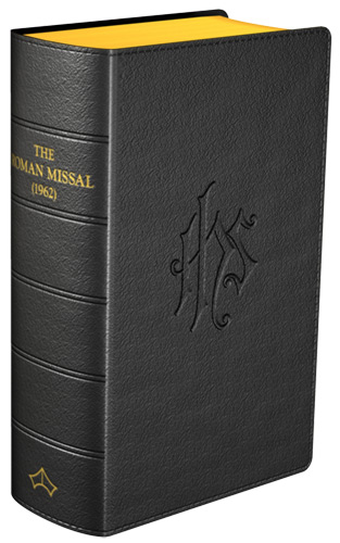 Daily Missal 1962 - Flexible cover (Black Leather)