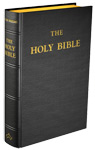 Douay-Rheims Bible (Large size) - Hardcover (Black Leather)