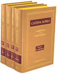 Catena Aurea - Leather Hardback,  4-Volume Set