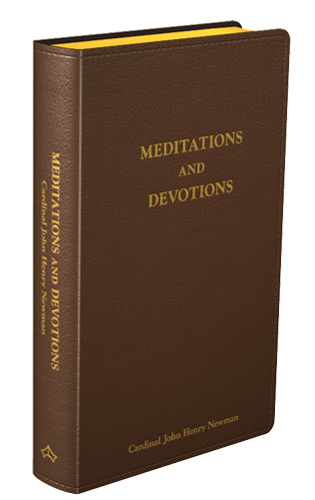 Meditations and Devotions - Flexible cover (Brown Leather)
