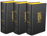 The Roman Breviary - Flexible cover (Black Leather), 3-Volume Set