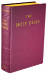 Douay-Rheims Bible (Standard size) - Flexible cover (Burgundy Leather)